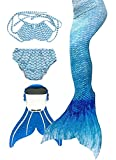 SPEEDEVE Mädchen Meerjungfrauenschwanz Zum Schwimmen mit...