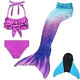 GNFUN Mädchen Meerjungfrauenschwanz Zum Schwimmen mit...
