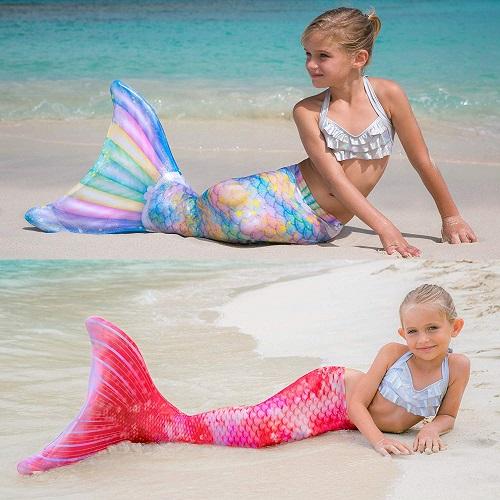 Meerjungfrauenflosse Kinder