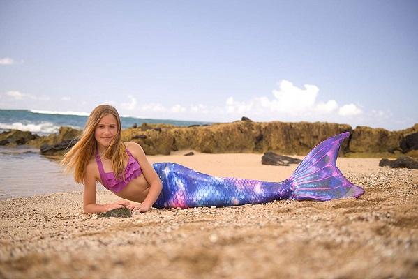 Meerjungfrauenflosse zum Schwimmen