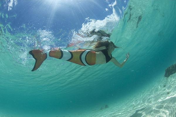 Mermaiding - Schwimmen mit der Meerjungfrauenflosse